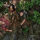 Luis Guzmán, Vanessa Hudgens, and Josh Hutcherson in Journey 2: The Mysterious Island (2012)