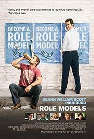 Seann William Scott and Paul Rudd in Role Models (2008)