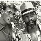 Jean Claude Van Damm and Haskell Vaughn Anderson III