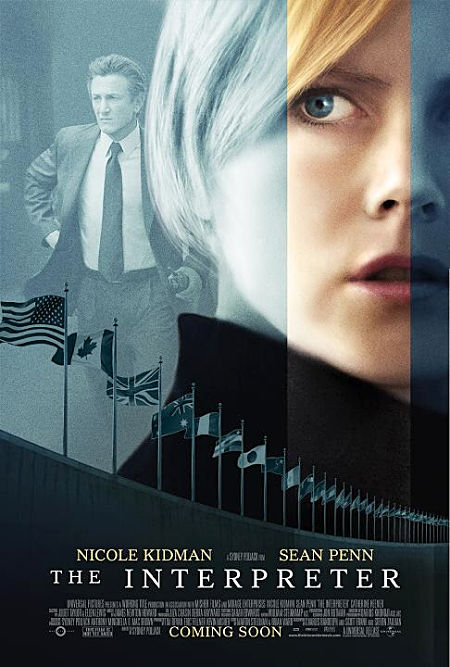 Nicole Kidman and Sean Penn in The Interpreter (2005)