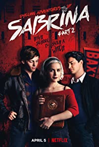 Kiernan Shipka, Ross Lynch, and Gavin Leatherwood in Chilling Adventures of Sabrina (2018)
