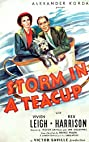 Storm in a Teacup (1937) Poster