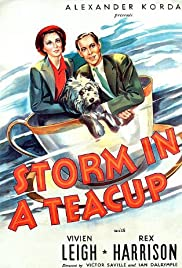 Storm in a Teacup (1937) Poster - Movie Forum, Cast, Reviews