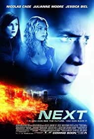 Nicolas Cage, Julianne Moore, and Jessica Biel in Next (2007)