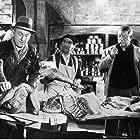 Louis de Funès, Bourvil, and Jean Gabin in La traversée de Paris (1956)