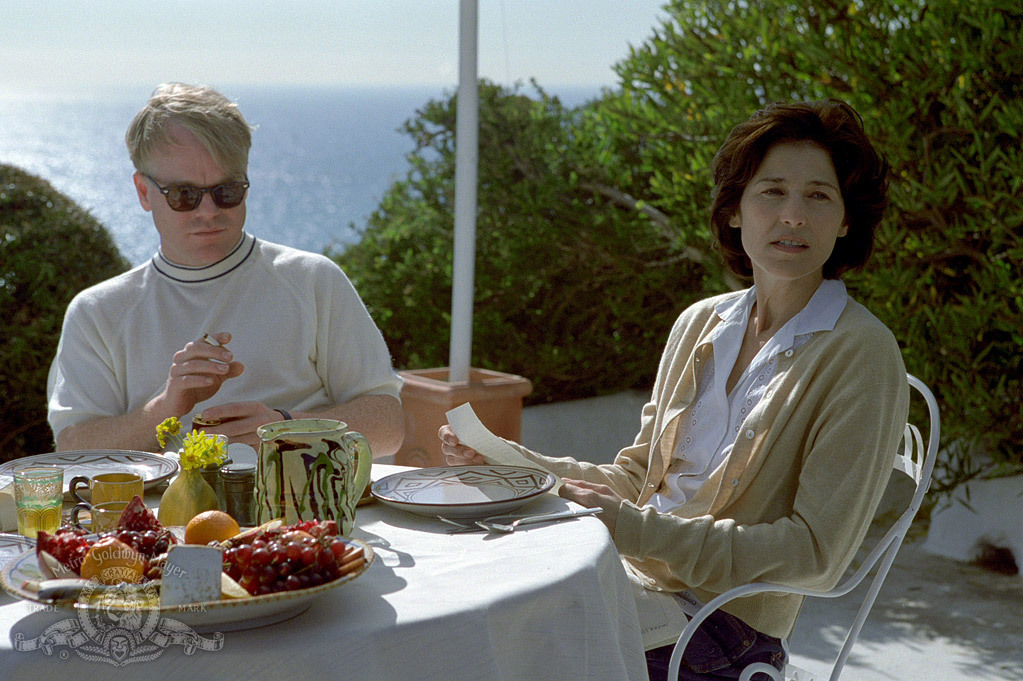 Philip Seymour Hoffman and Catherine Keener in Capote (2005)