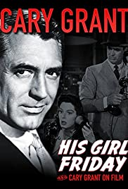 Cary Grant on Film Poster