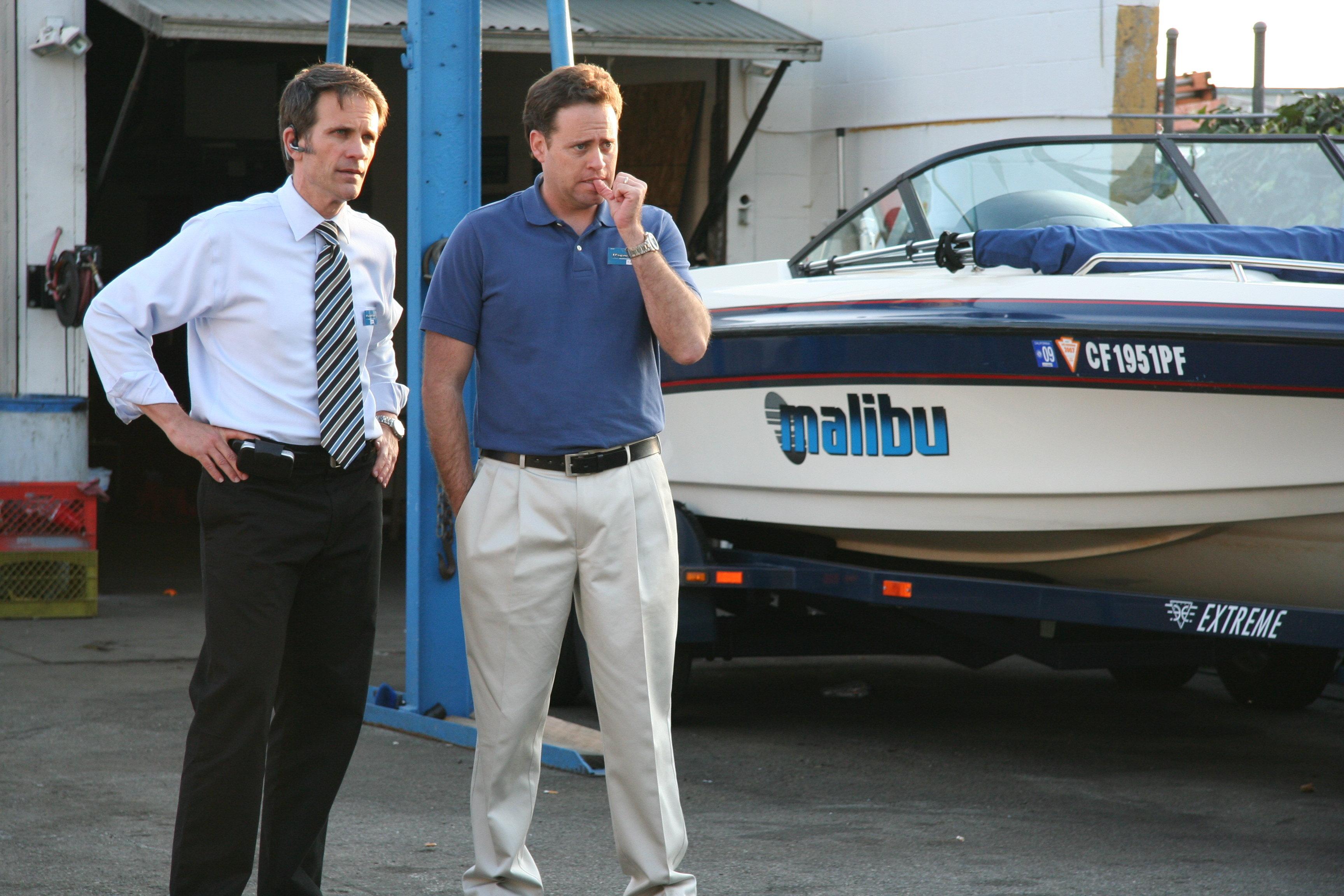 Matt Kaminsky and Mel Fair in Man Overboard (2008)