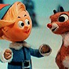Billie Mae Richards and Paul Soles in Rudolph the Red-Nosed Reindeer (1964)