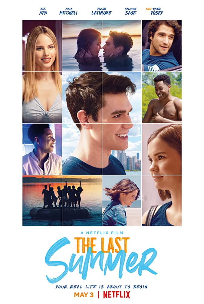 Tyler Posey, Maia Mitchell, and K.J. Apa in The Last Summer (2019)