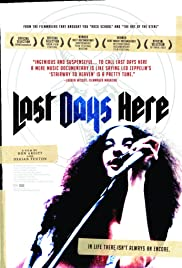 Last Days Here (2011) Poster - Movie Forum, Cast, Reviews