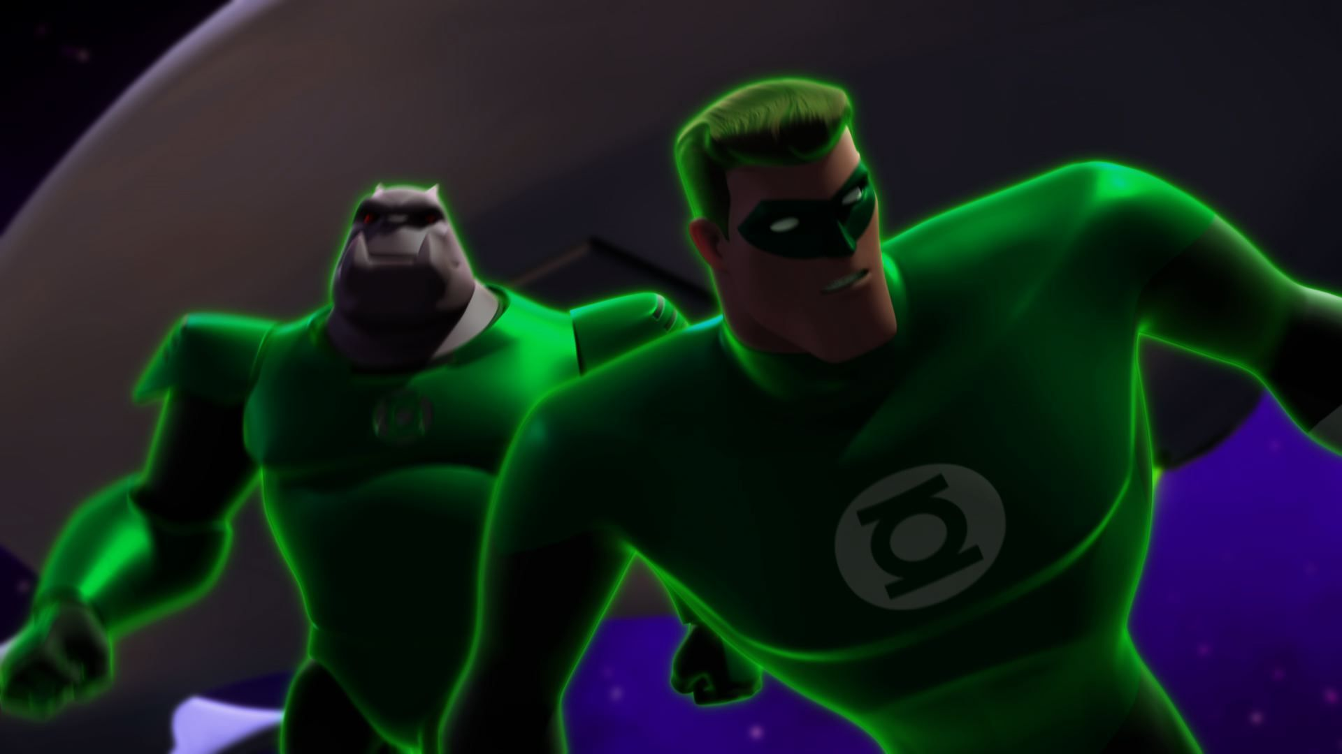 List of new green lantern animated series episodes for march 2012.