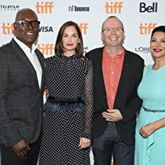Shohreh Aghdashloo, Cameron Bailey, Col Needham, and Ruth Wilson