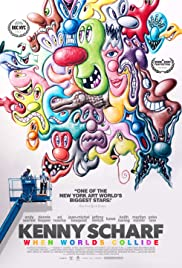 Kenny Scharf: When Worlds Collide Poster