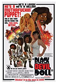 Black Devil Doll Poster