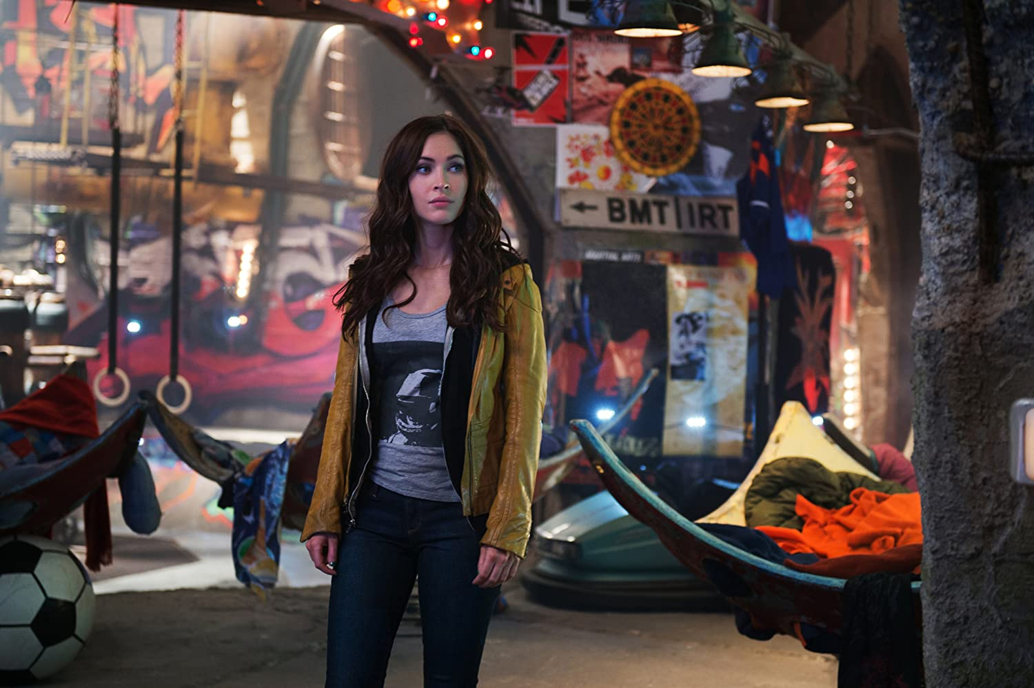 Megan Fox in Teenage Mutant Ninja Turtles (2014)