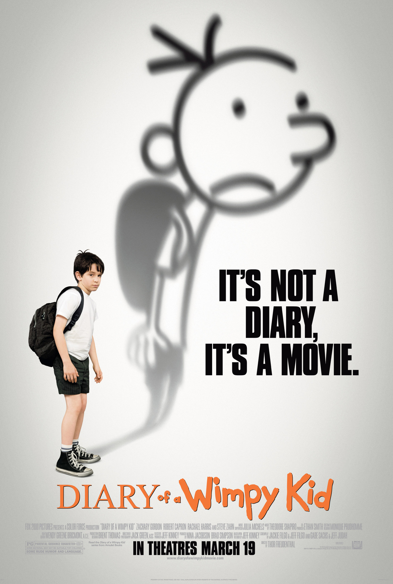 Diary Of A Wimpy Kid 2010 Imdb