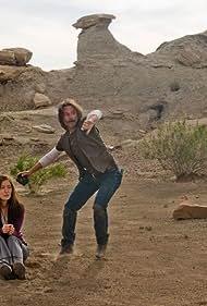Robert Carlyle and Jennifer Spence in SGU Stargate Universe (2009)