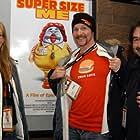Morgan Spurlock, Daryl Isaacs, and Alexandra Jamieson at an event for Super Size Me (2004)
