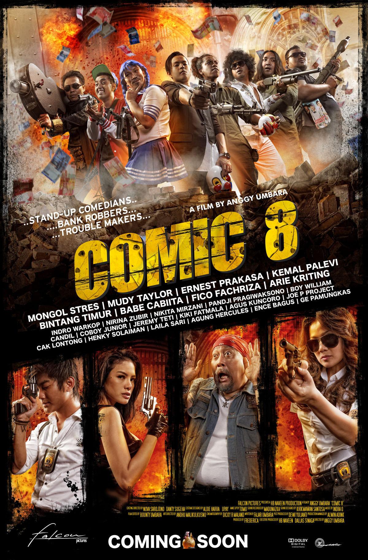 Comic 8 2014 Imdb