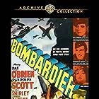 Randolph Scott, Pat O'Brien, and Anne Shirley in Bombardier (1943)