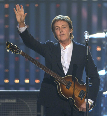 Paul McCartney At An Event For The 48th Annual Grammy Awards 2006