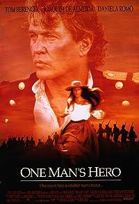 Primary photo for One Man's Hero