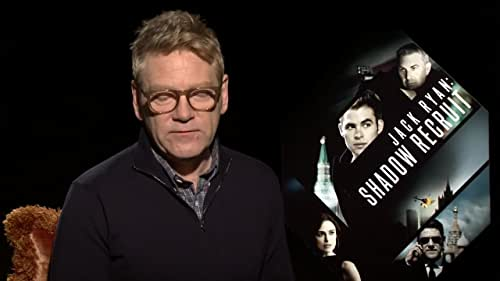 Chris Pine and Kenneth Branagh