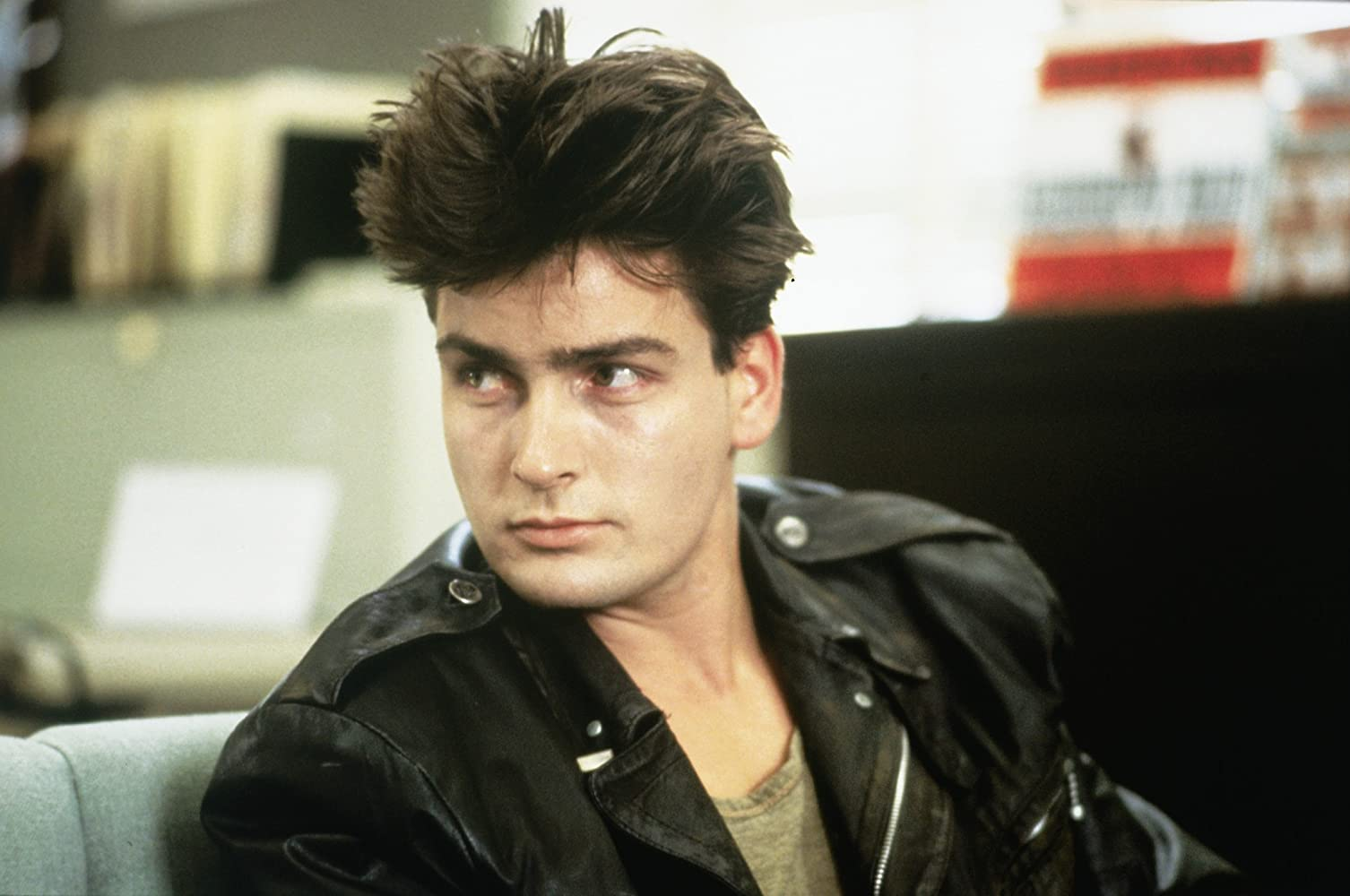 Charlie Sheen in Ferris Bueller's Day Off (1986)