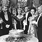 Joseph Cotten, Agnes Moorehead, Richard Bennett, Ray Collins, Dolores Costello, and Don Dillaway in The Magnificent Ambersons (1942)