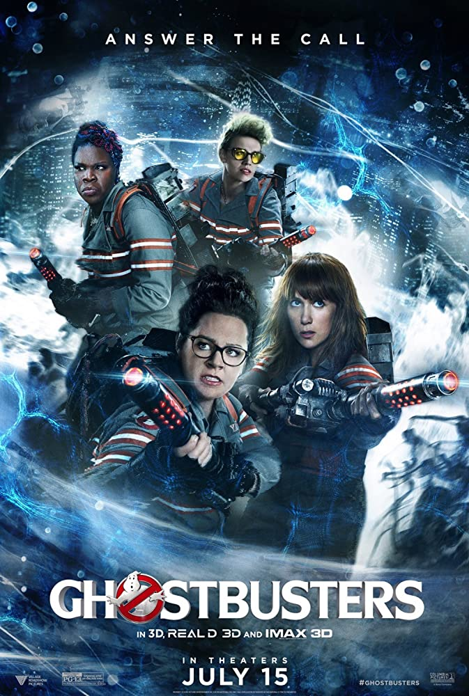Ghostbusters 2016 Movie BluRay Dual Audio Hindi Eng 400mb 480p 1.3GB 720p 4GB 1080p