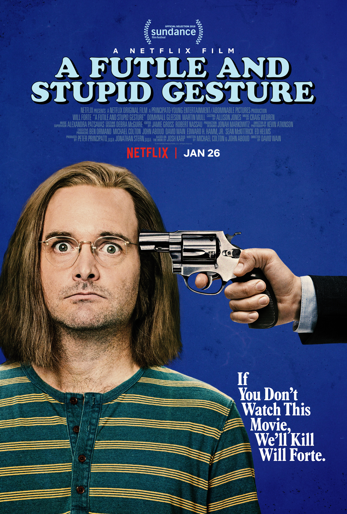 A Futile and Stupid Gesture (2018) WEBRip 720p & 1080p