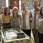 JoAnna Garcia Swisher, Kenneth Mitchell, Joel Johnstone, Erin Cummings, Aaron McCusker, and Zoe Boyle in The Astronaut Wives Club (2015)