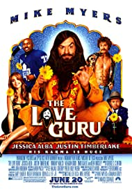 Mike Myers, Jessica Alba, Justin Timberlake, Romany Malco, and Verne Troyer in The Love Guru (2008)