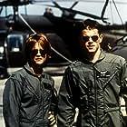 Meg Ryan and Matt Damon in Courage Under Fire (1996)