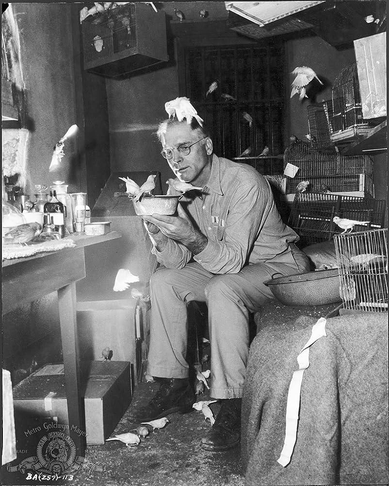 Burt Lancaster in Birdman of Alcatraz 1962