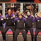 Ben Stiller, Brandon Molale, Missi Pyle, Kevin Porter, Jamal Duff, and Rusty Joiner in Dodgeball: A True Underdog Story (2004)