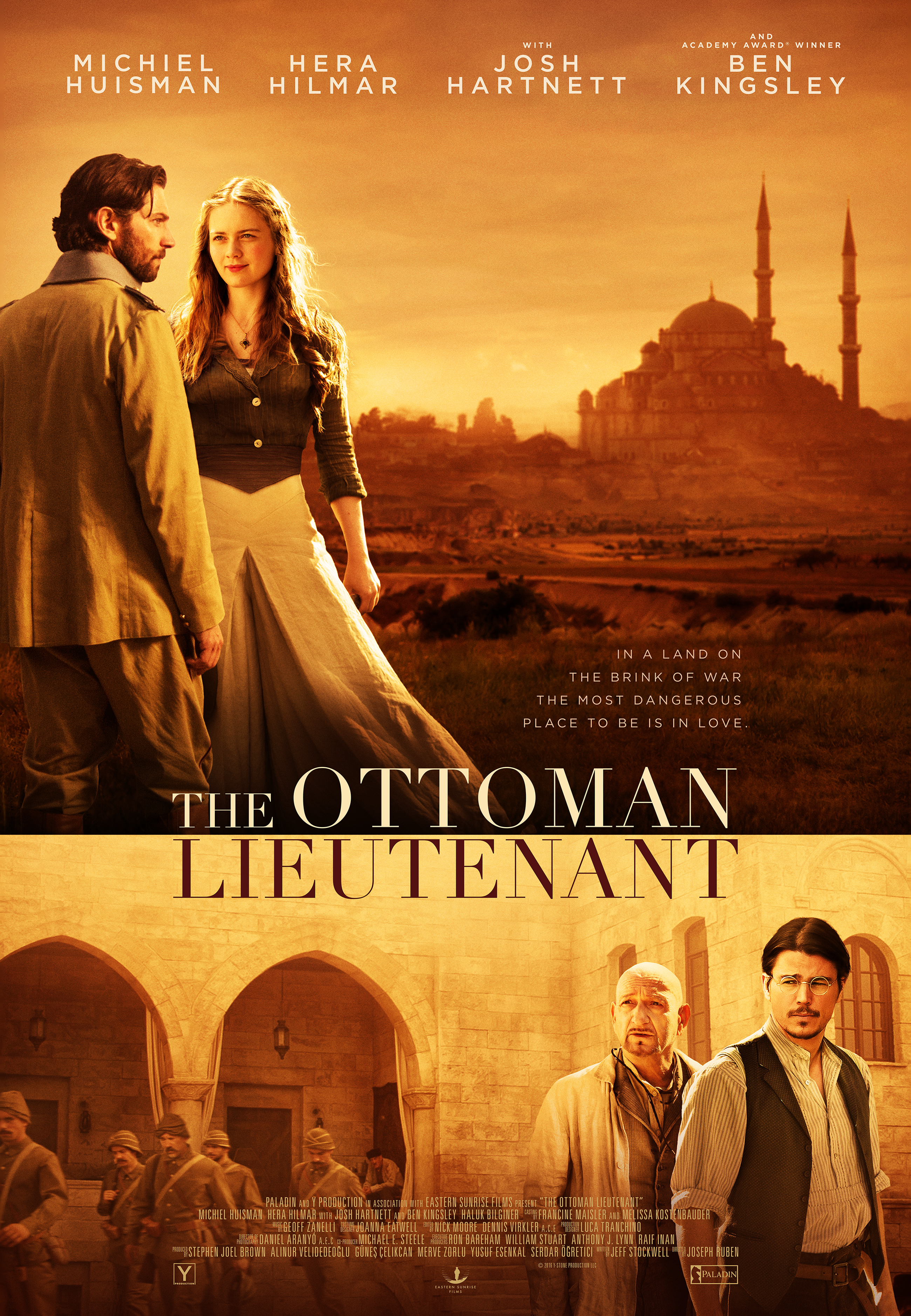 The Ottoman Lieutenant (2017) - IMDb
