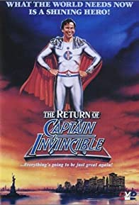 Primary photo for The Return of Captain Invincible