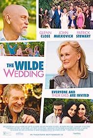 Glenn Close, Minnie Driver, John Malkovich, Patrick Stewart, and Grace Van Patten in The Wilde Wedding (2017)