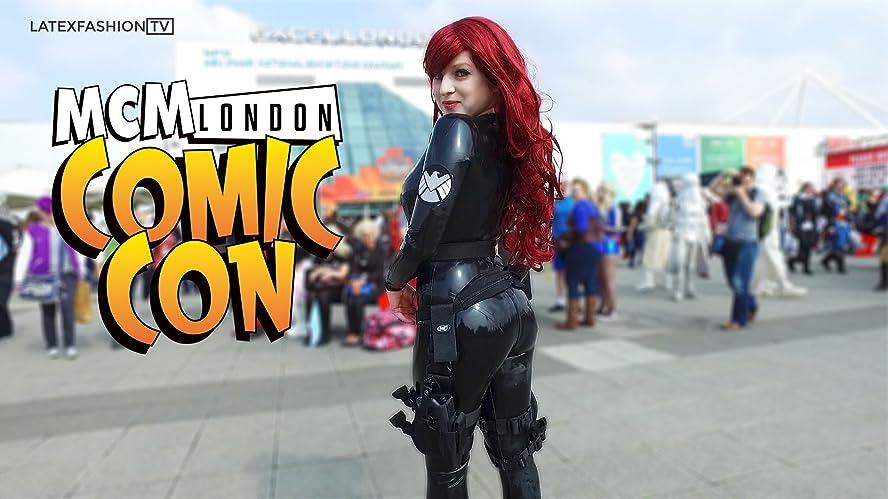 Cozplay Girl Black Widow Cosplay Mcm London Comic Con 2017