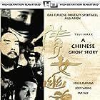 Leslie Cheung and Wu Ma in Sien lui yau wan (1987)