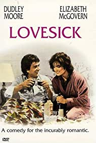 Elizabeth McGovern and Dudley Moore in Lovesick (1983)