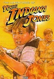 Young Indiana Jones and the Phantom Train of Doom Poster