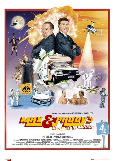 Makso ir Paddy kelias į niekur (1 Sezonas) / Max & Paddy's Road to Nowhere Season 1
