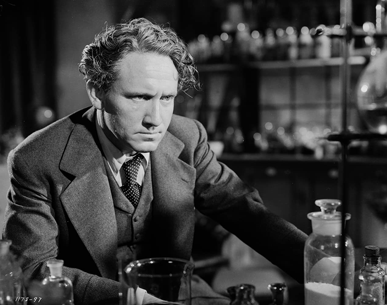 Spencer Tracy in Dr. Jekyll and Mr. Hyde (1941)
