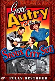 Gene Autry, Sterling Holloway, Richard Lane, and Lynne Roberts in Sioux City Sue (1946)