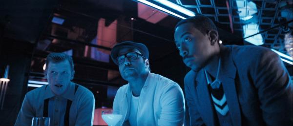 Jeremy Piven, Ludacris, and Geoff Bell in RocknRolla (2008)