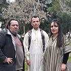 Argyris Kontonikolaou, Vicky Driva, and Dimitris Gaitanis in Ithopoios Simainei (2021)