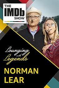 Norman Lear and Kerri Doherty in The IMDb Show (2017)